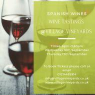 Tasting Event - Spanish Wines