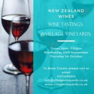 Tasting Event - New Zealand Wines
