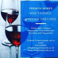 Tasting Event - French Wines
